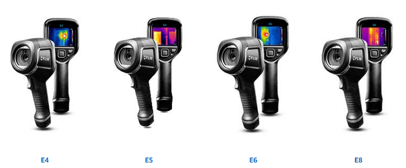 E4、E5、E6和E8红外热像仪