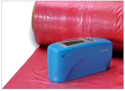 微型光泽仪75°:特别应用在纸张、纸板和表面有结构的塑料,如聚乙烯线材。