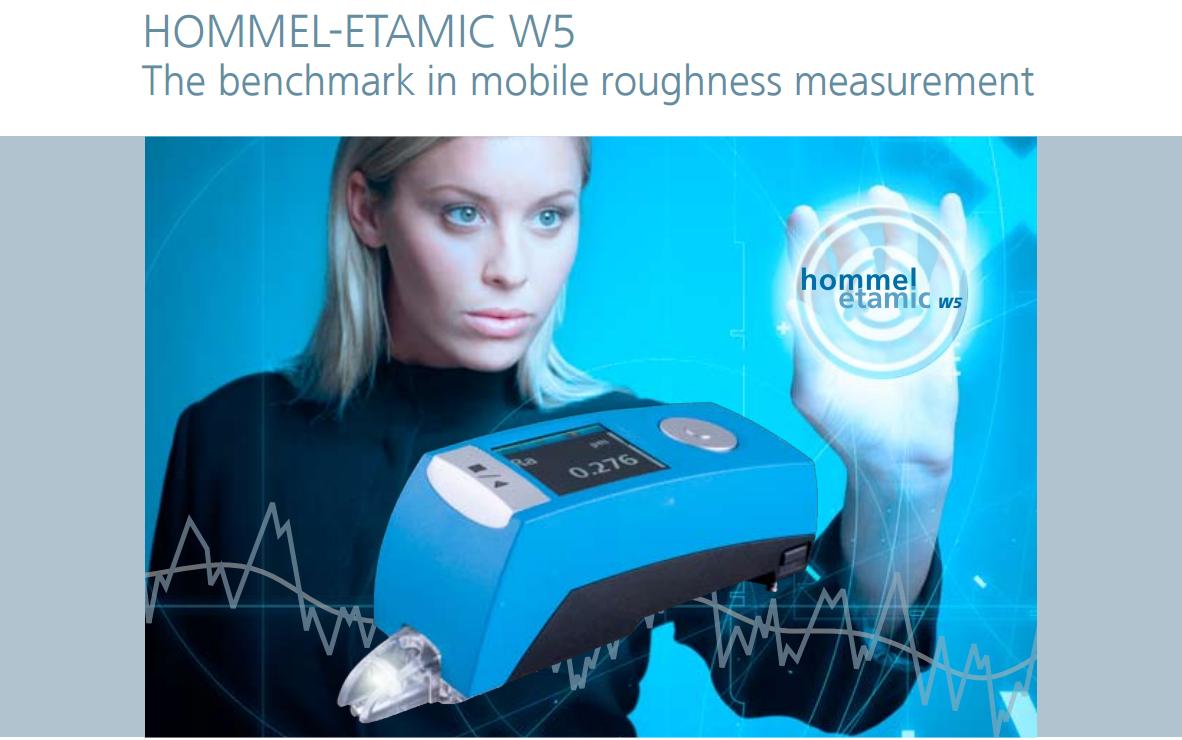 德国霍梅尔hommel W5粗糙度仪测量仪应用实例图