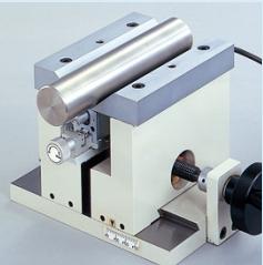 V型辅助装置用于圆柱轴向测量