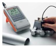 ISOSCOPE@ FMP30配 合FTA3.3探头-测量轻合金边缘