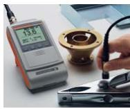 >DUALSCOPE@ FMP40配合FD13探头一测量各种小零件
