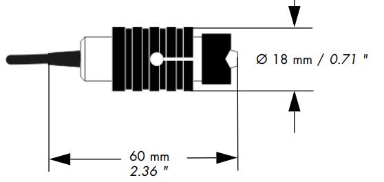 德国菲希尔涡流探头FTA3.3H尺寸