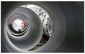在管道制造过程中测试管道的内部涂层