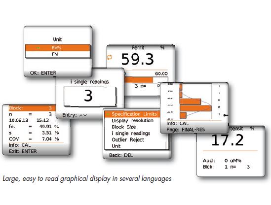 FeritScope FMP30 铁素体含量测定仪软件界面