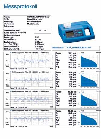 T1000粗糙度仪软件