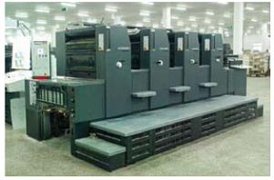 高速印刷机校正