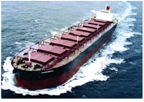 船在港湾里的倾斜的测试