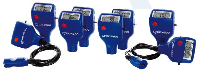 尼克斯涂层测厚仪QNix®4200/4500