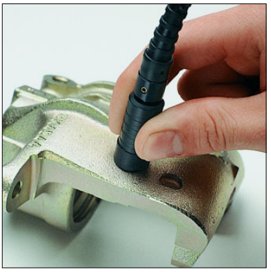 ESD2探头非常适合在非常粗糙的电镀表面上测量涂层厚度。