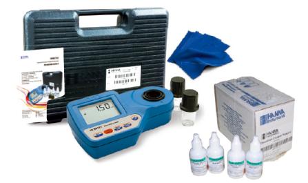 哈纳HI96732 比色法溶解氧测定仪基础配置