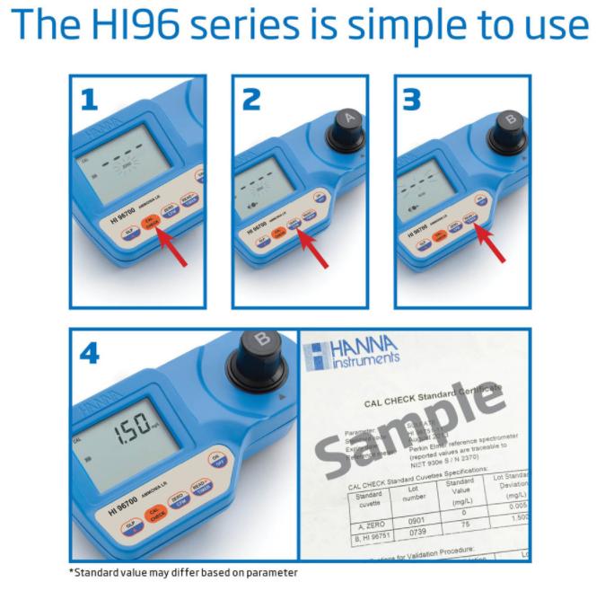 哈纳HI96732 比色法溶解氧测定仪操作步骤