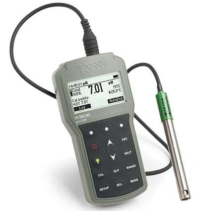哈纳HI98190 酸度pH/ORP/温度°C测定仪