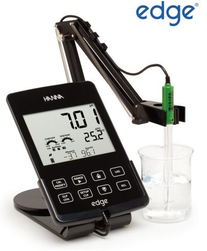 哈纳HI2020 平板式多参数酸度pH / mV/温度测定仪