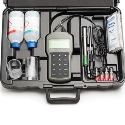 哈纳HI98191便携式pH / ORP / ISE/温度测定仪标准配置