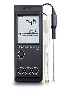 意大利哈纳HI931100专业型NaCI盐度测量仪