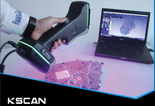KSCAN 20红蓝双色激光复合式三维扫描仪